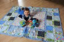 Makerist - Quilt - Krabbeldecke für meinen Großcousin - 1