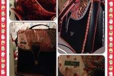 "Makerist - ""Erdbeerchen"" - Tolle Handtasche aus Kunstleder u anderen Elementen  - 1"