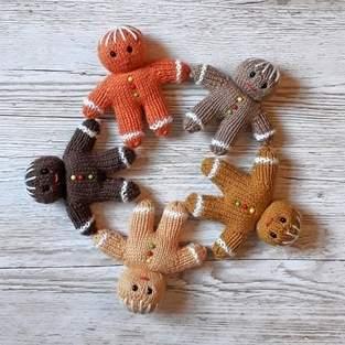 Makerist - Gingerbread Men - 1