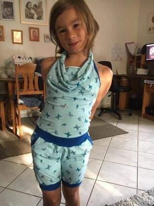 Makerist - Ein Jumpsuite für coole Mädchen - 1