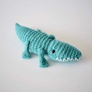 Makerist - Alec the Alligator - 1