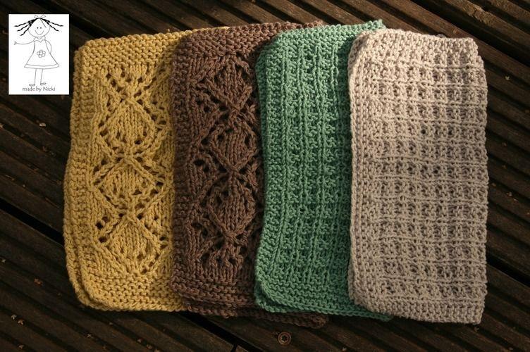 Makerist - Spültücher aus Baumwolle - Strickprojekte - 1