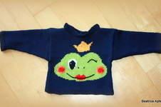 "Makerist - Babypulli ""Frosch"" - 1"