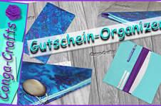 Makerist - Gutschein-Organizer nähen DIY - 1