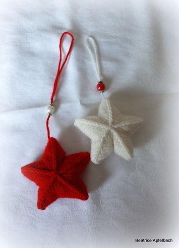 Makerist - Weihnachtssterne - Strickprojekte - 1