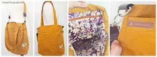 Makerist - Yellow Bag aus Dry Oilskin - 1