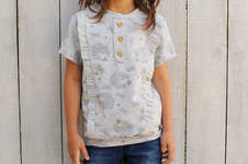 Makerist - Shirt Filippa mit Knopfleiste - 1