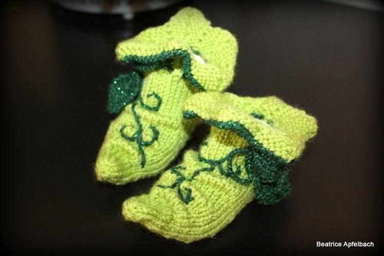 Makerist - Elbensocken für Mami und Baby - Strickprojekte - 2