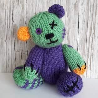 Makerist - Halloween teddy - 1
