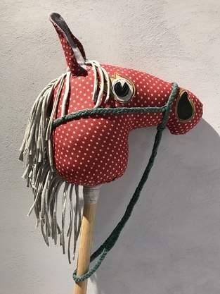 Makerist - Steckenpferd aus buntem Jeansstoff und Jersey  - 1