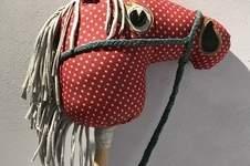 Makerist - Steckenpferd aus buntem Jeansstoff bzw. Cord und Jersey  - 1