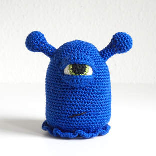 Makerist - Bob das blaue Monster  - 1