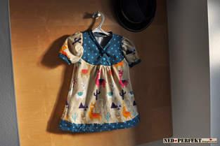 Makerist - Minitoppi Knopfshirt Lama - 1