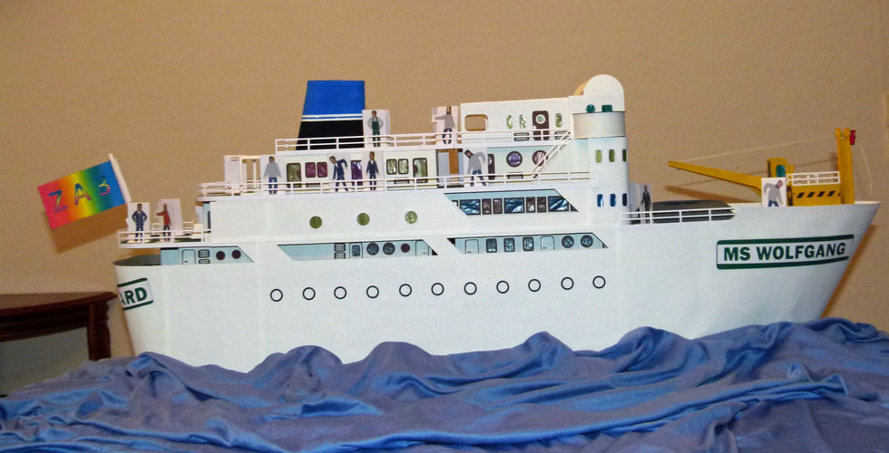 Makerist - Kreuzfahrtschiff aus Pappe - Werkzimmer - 1
