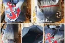Makerist - Tasche Schwesterherz upcycling aus jeans - 1