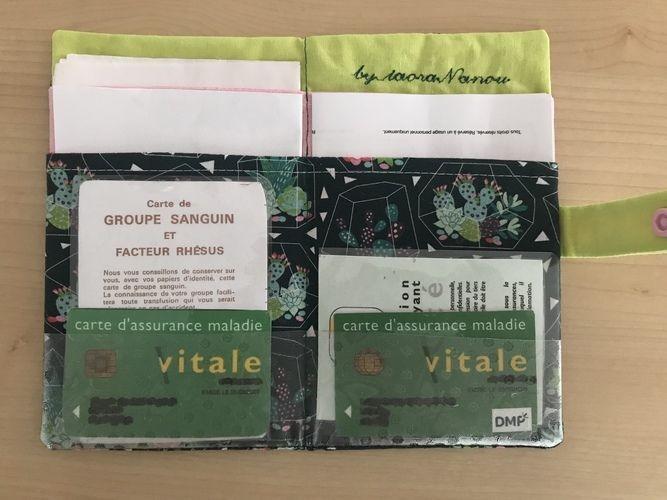 Makerist - Pochette papiers de santé TAOTE - Créations de couture - 1