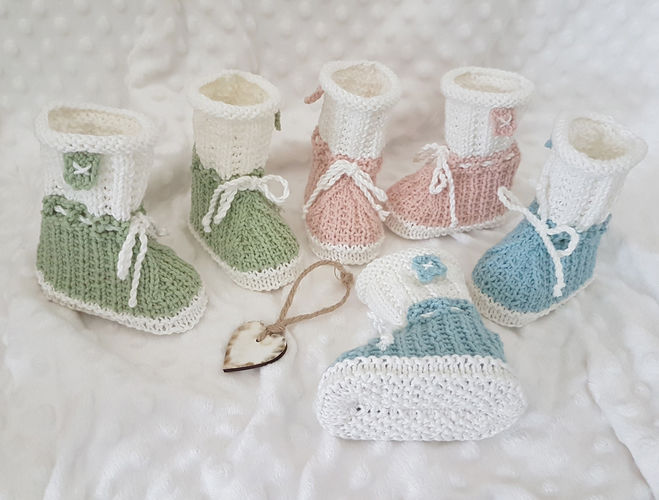 Makerist - Sebastian Mouse Bunnykids Booties 0 - 12 months - Knitting Showcase - 1