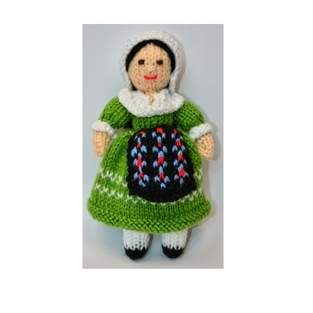 Makerist - Adeline French Folk Doll - DK Wool - 1
