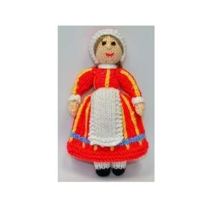Makerist - Bettina Danish Folk Doll - DK Wool - 1
