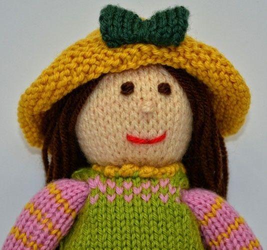 Makerist - Tulip Spring Doll - DK Wool - Knitting Showcase - 2