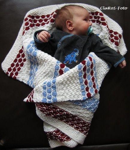 Makerist - Babydecke - Strickprojekte - 2