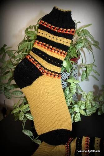 "Makerist - Socken ""Anesa"" - Strickprojekte - 1"