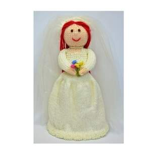 Makerist - Bride Doll Knitting Pattern - 1