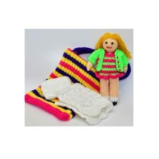 Makerist - Bella in a Bag Rag Doll - 1