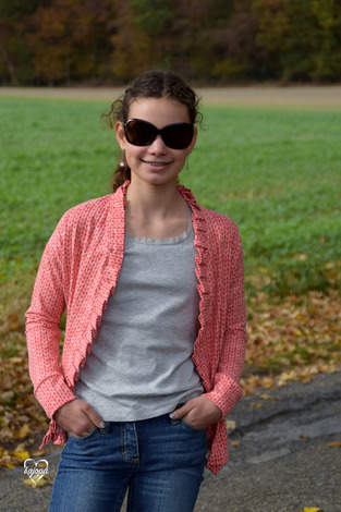 Makerist - Cardigan Teens von Kleiner Polli-Klecks - 1