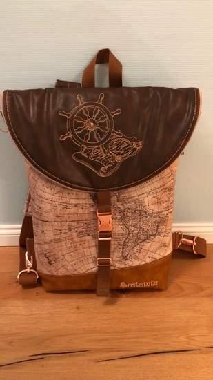 Makerist - Hikebag von Unikati mit Weltkarte - 1