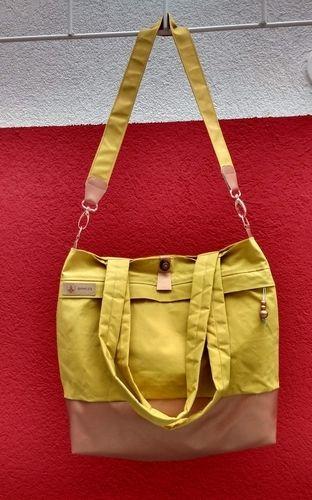 Makerist - yello_bag mit Kupfer - Nähprojekte - 1