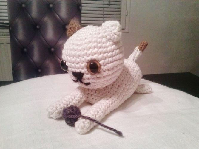 Makerist - amigurumi chat - Créations de crochet - 1