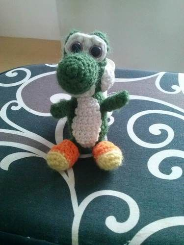 Makerist - Yoshi amigurumi crochet - Créations de crochet - 1