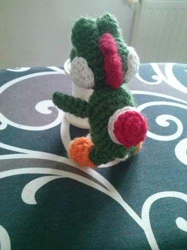 Makerist - Yoshi amigurumi crochet - Créations de crochet - 2