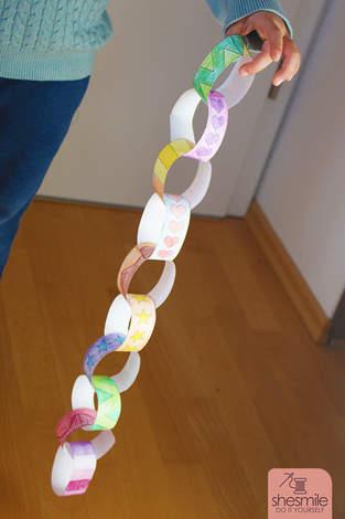 Makerist - Alle Kinder lieben Papier-Kringel-Ketten - 1