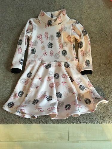 Makerist - Winterwunder Kinderkleid  - Nähprojekte - 1