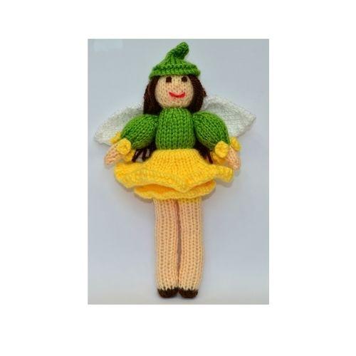 Makerist - Daffodil Flower Fairy - DK Wool - Knitting Showcase - 1