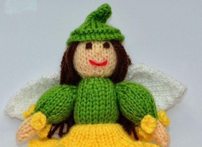 Makerist - Daffodil Flower Fairy - DK Wool - Knitting Showcase - 2