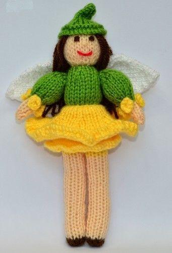 Makerist - Daffodil Flower Fairy - DK Wool - Knitting Showcase - 3