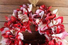Makerist - Weihnachtlicher Kranz aus Stoff - 1