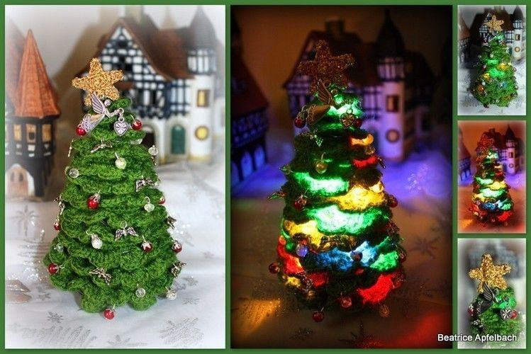 Makerist - Kleiner Christbaum - Häkelprojekte - 1