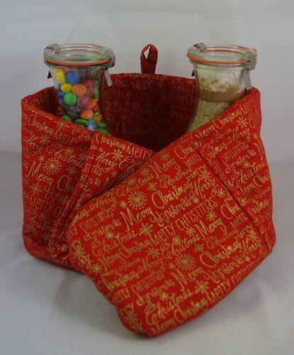 Makerist - Ofenhandschuhe und Backmischung - Nähprojekte - 1