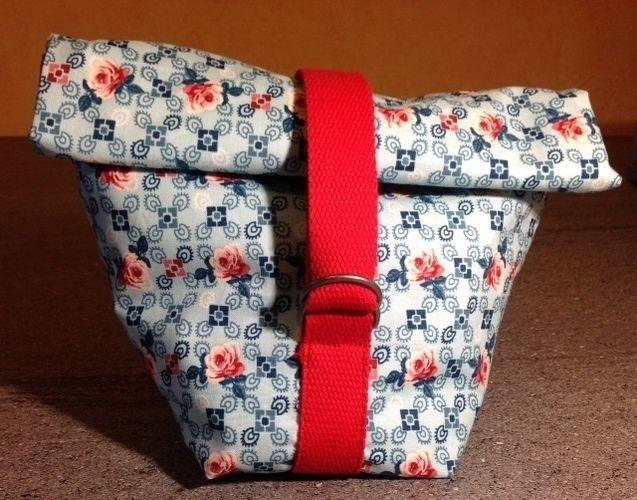 Makerist - Lunchbag aus Wachstuch - Nähprojekte - 1