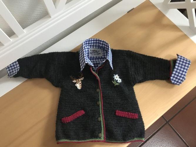 Makerist - Trachten Jankerl Jungen 2-3 Jahre  - Häkelprojekte - 3