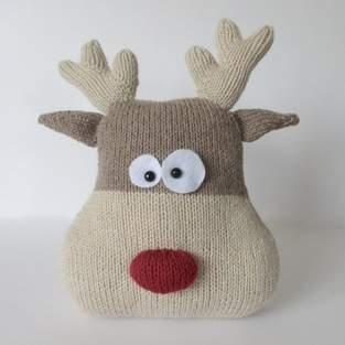 Makerist - Reindeer Cushion - 1