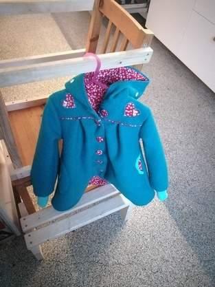Makerist - Mantel Gretchen für Frida - 1