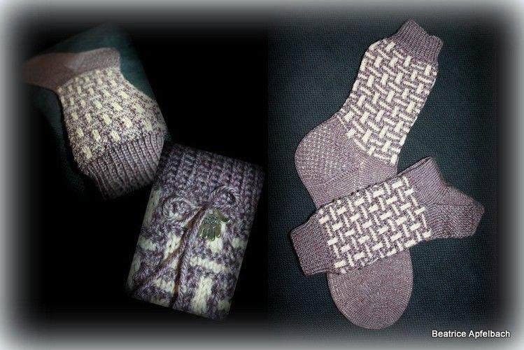 """Makerist - Socken """"Socktober 3"""" - Strickprojekte - 1"""