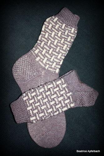 """Makerist - Socken """"Socktober 3"""" - Strickprojekte - 2"""
