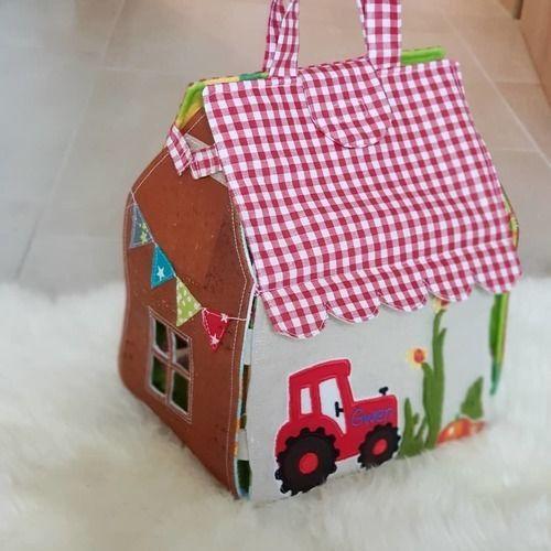 Makerist - Spielhaus Bauernhof - Nähprojekte - 1
