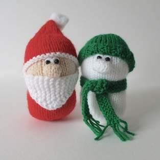Makerist - Santa and Snowman - 1